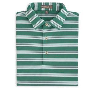 Peter Millar Snapper Stripe Polo Shirt